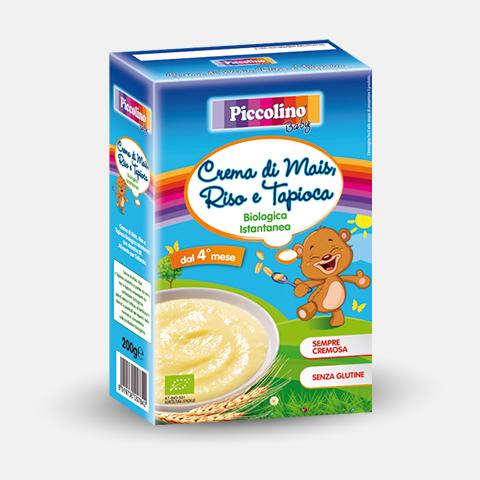Piccolino Baby Crema Mais Riso Tapioca richiamo