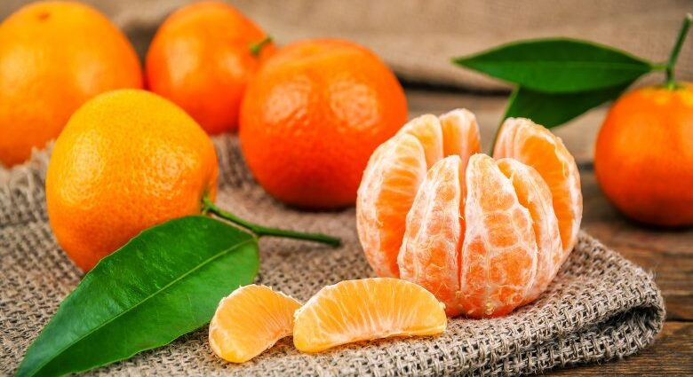 Mandarini calorie valori nutrizionali