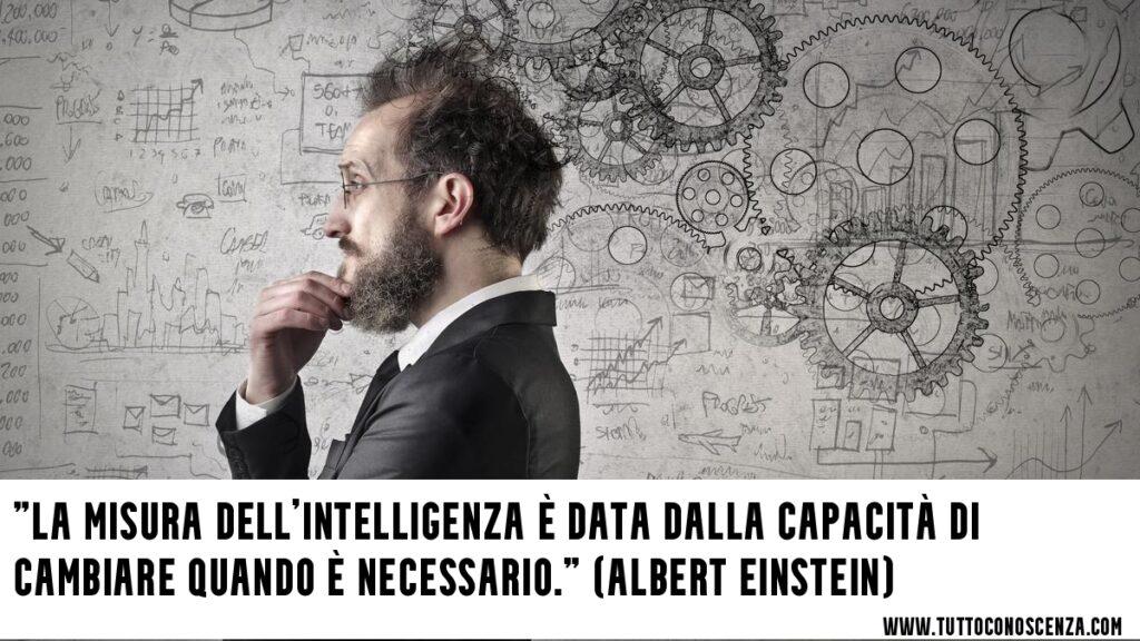 Frase sull'intelligenza Einstein