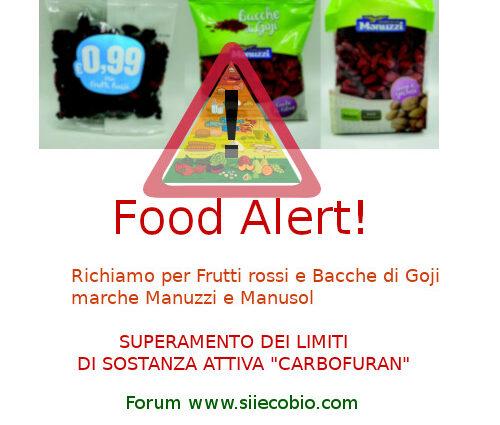 Manuzzi Manusol Frutti rossi Bacche Goji richiamo