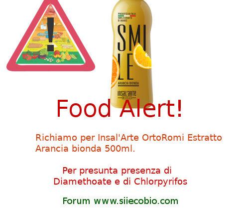 Insal'Arte OrtoRomi estratto arancia bionda richiamo