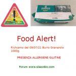 Allerta alimentare oggi: richiamo per Granarolo Burro 1000g e Burro del Buon Pascolo 1000g