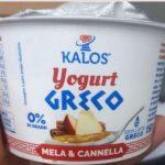 Allerta alimentare Kalos Yogurt greco ritirato