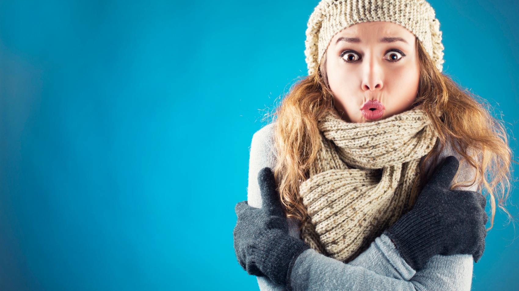 Donne sentono più freddo